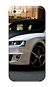 Tpu Case Cover For Iphone 5c Strong Protect Case - Audi A5 26 Design