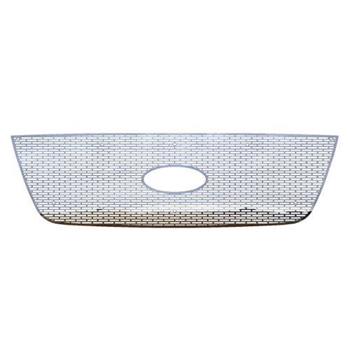 03 Ford Ranger Billet Grille - Polished Stainless Horizontal Billet Grille Grill Insert Trim fits: 2001-2003 Ford Ranger With Factory Honeycomb Style Grill - Ferreus Industries - TRK-150-01