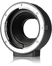 Meike MK-C-AF4-adapter för Canon EF EF-S objektivfäste till EOS M EF-M Mirroless kamera