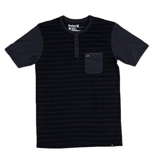 Hurley Men's Superior Knit Top, Black, Small