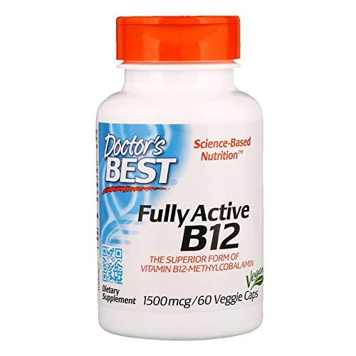 Doctor's Best - Best Fully Active B12 1500 mcg. - 60 Vegetar