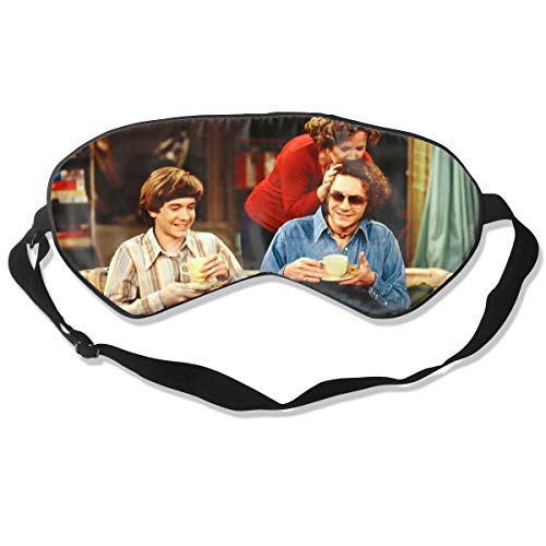 STEPHEN Sleep Mask & Blindfold & Eyeshade That '70s Show Unisex Printing Pattern Lightweight and Comfortable Night Cover for Kids Girls for Everyday Use