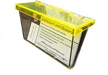 VehicleCardHolders.com - Caja para Tarjetas de Visita Clear with ...