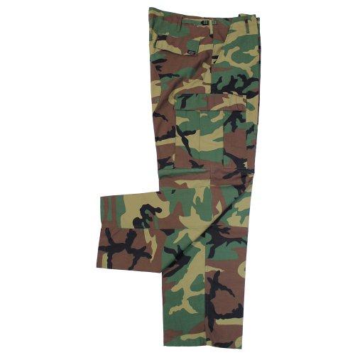 Avec Us Pantalon Knee Woodland Bdu Double Mfh Hommes De Combat Butt xZYIwBp7q
