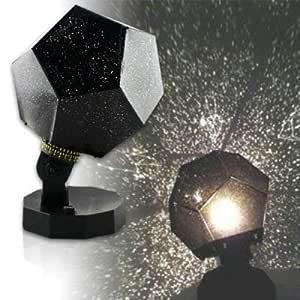 DIVISTAR Astro Planetario Estrella Proyector Celestial Luz Lámpara de Cielo Nocturno (3 Colores - Azul, Blanco, Amarillo)