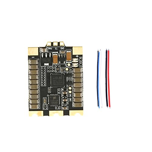 Goolsky Wraith32 80A ESC Metal Brushless Electronic Speed Control Blheli_32 Dshot1200 2-6S for RC FPV Racing Drone Multicopter Quadcopter by Goolsky