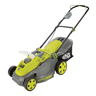 Sun Joe iON16LM iON 40V Cordless 16-Inch Lawn Mower with Brushless Motor