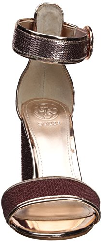 Rose Gold Sandal Heeled GUESS ABHA2 Women's qUUAZ