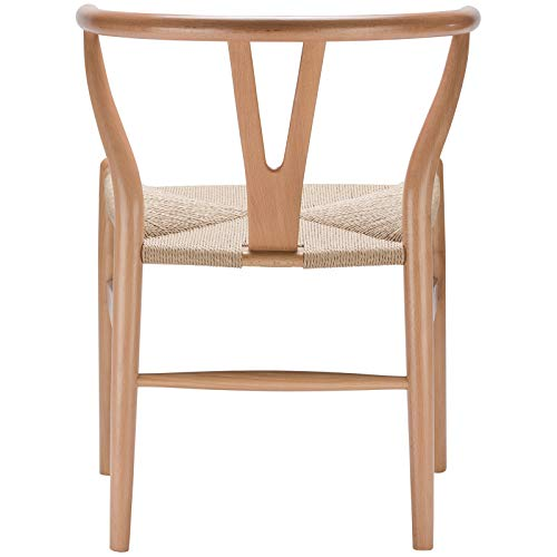 Poly and Bark Weave Chair in Natural (Set of 2) by Poly and Bark (Image #5)