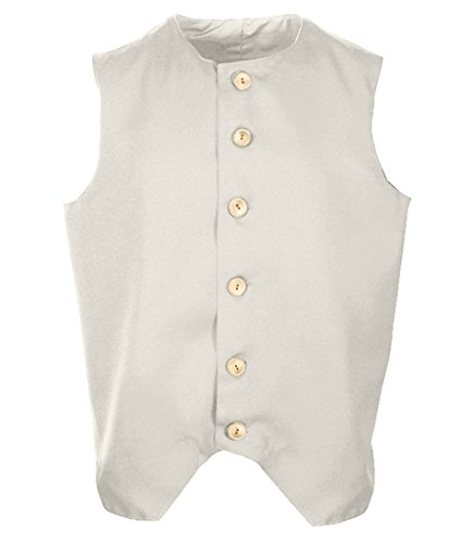 Adult 1700's Early American Colonial Inspired Waistcoat, Colonial Vest (XXLarge, (Colonial Attire)