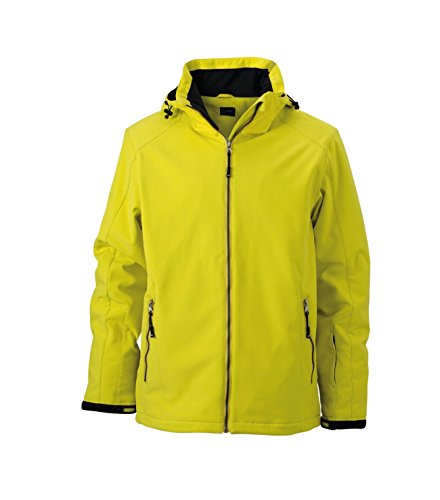 Wintersport Giacca Jacket Yellow Men's Softshell Elastica Imbottita xCfqP