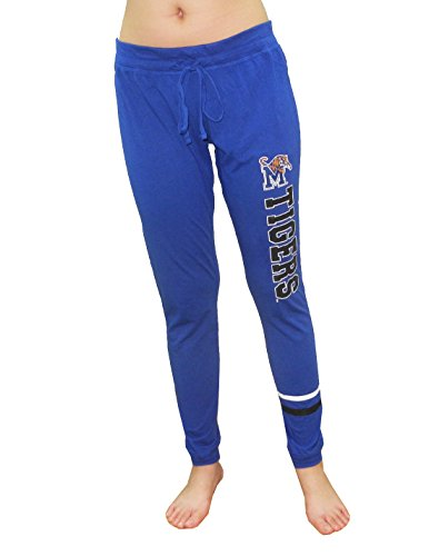 (Memphis Tigers NCAA Womens Casual Lounge / Yoga Pants S Blue)