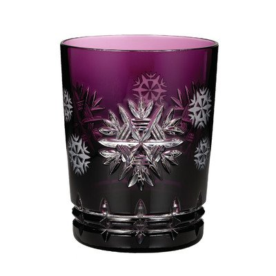 Snowflake Wishes Old Fashioned Glass