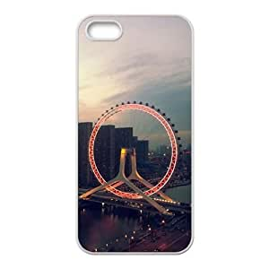 Fantastic ferris wheel Phone Case for iPhone 5S(TPU)