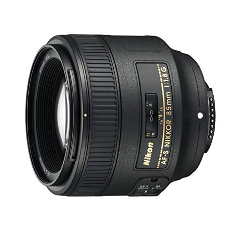 Nikon AF S NIKKOR 85mm f/1.8G Fixed Lens with Auto Focus for Nikon DSLR Cameras (Renewed)