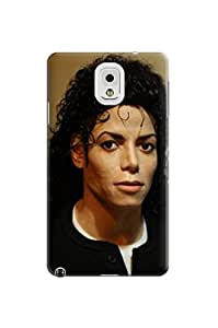 Dirtproof design TPU phone case cover witn cartoon fit for Samsung Galaxy note3 (Michael Jackson)