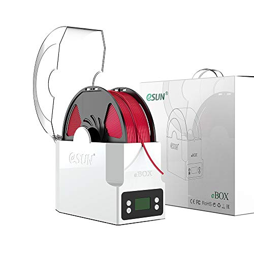 eSUN eBOX 3D Printing Filament Box Second Generation, dehydrate Filament, Keep Filament Dry and Measure Filament Weight