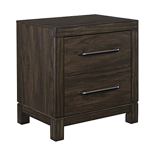 Brissley 2-Drawer Nightstand in Brown by Ashley Furniture