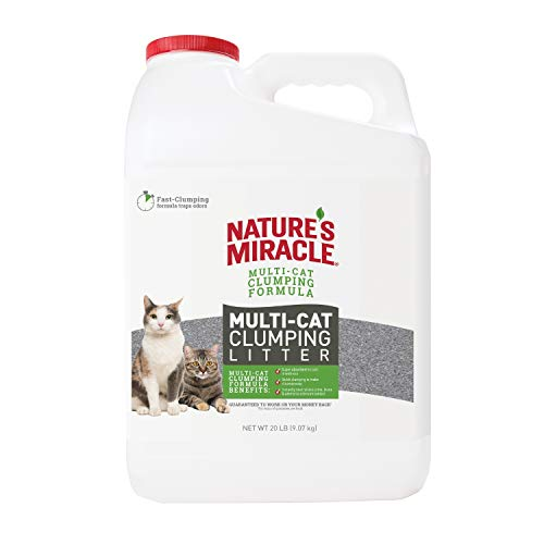 Natures Miracle P 98139 Multi Cat Fast Clumping