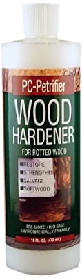 PC Products PC-Petrifier Water-Based Wood Hardener, Milky White