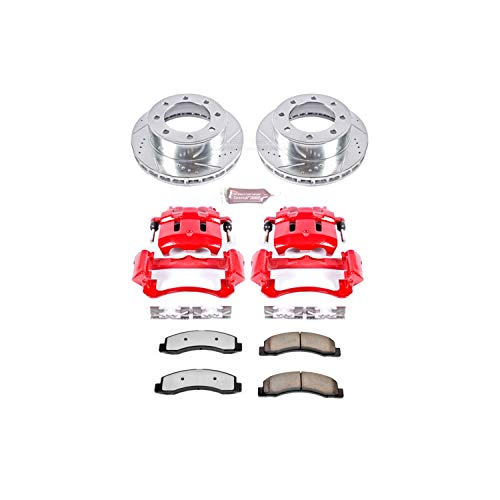 (Power Stop KC1905-36 Front Z36 Truck and Tow Brake Kit with Calipers)