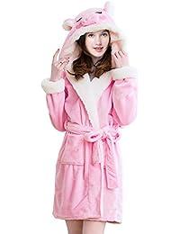 Adult Unisex Unicorn Robe Hooded Bathrobe aae804c9f