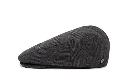 Brixton Men's Hooligan Driver Snap Hat, Black/Dark Grey, M