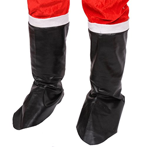 Fangfeen Christmas Props Boots Decoration Costume Party Performance Shoes