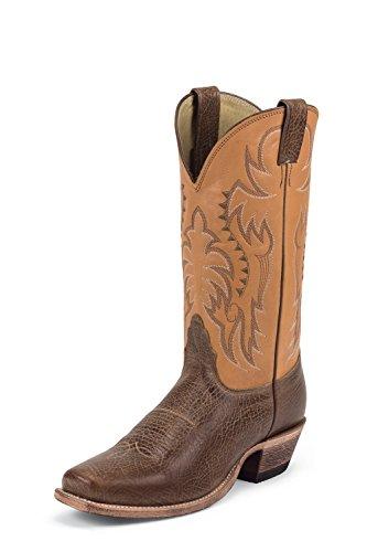 Nocona Boots Mens Legacy, Brown, 7.5 EE US