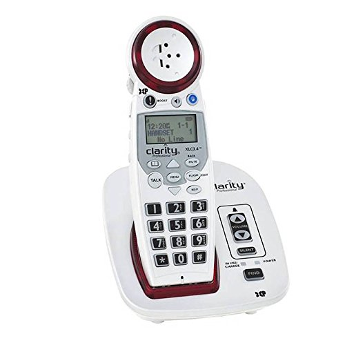 Clarity Extra Loud Big Button Speakerphone Talking