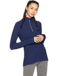 Women's Long Sleeve Half-Zip Top, Prime Exclusive