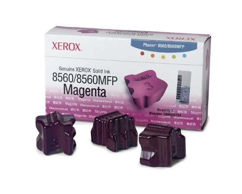 Xerox  108R00724 Solid Ink Magenta, Phaser 8560/8560MFP (3 Sticks)