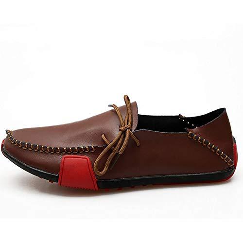 Chaussures B Cuir De Mocassins En De Printemps Hommes Hommes Chaussures Mode Automne 46 Conduite 5x7q4WwAA6