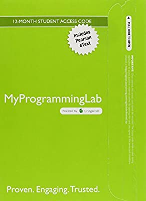 MyLab Programming with Pearson eText -- Standalone Access Card -- for Starting Out with C++: From Control Structures through Objects, Brief Version