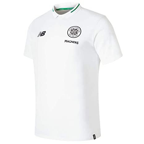New Balance 2018-2019 Celtic Elite Leisure Essential Polo Football ...