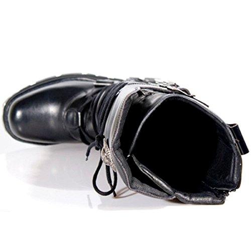 De Nieuwe Rots Laarzen Metal Rock Punk Emo Ontwerp Rits
