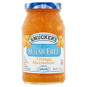 Smucker's Sugar Free, Orange Marmalade, 12.75 Ounce (Pack of 4)