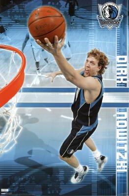 Trends Dallas Mavericks Dirk Nowitzki Poster