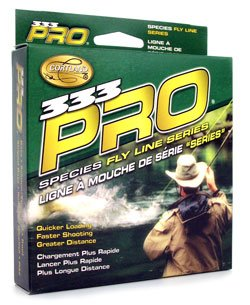 Cortland 333 Pro Trout Floating Fly Line, Yellow, WF8F Cortland Trout Rod