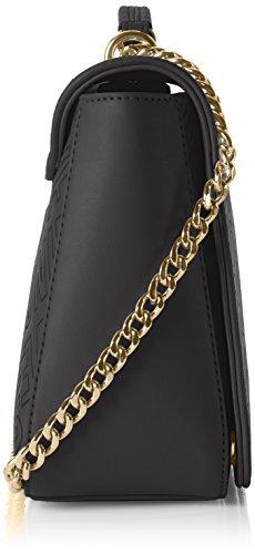 Love Moschino JC4026, Bolsa de Medio Lado para Mujer, Negro (Black), 9x18x28 cm (B x H x T)