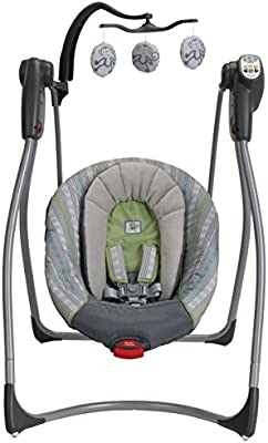 Amazon Graco Comfy Cove LX Swing Rory Baby