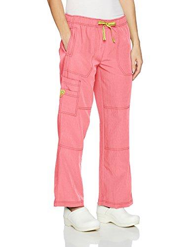 - WonderWink Women's Petite Sporty Cargo Pant, Passion Fruit, MDP