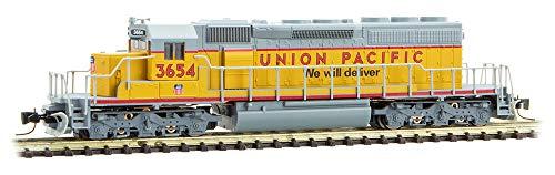 Sd40 2 Locomotive - Micro-Trains MTL Z-Scale EMD SD40-2 Locomotive Union Pacific/UP/Gray/Yellow 3654