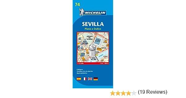 Plano Plegable Sevilla (Planos Michelin): Vv.Aa, Vv.Aa: Amazon.es ...