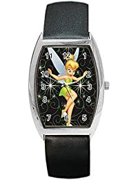 LSD013 Tinker Bell Barrel Style Metal Watch for Men Women Fashion HOT Gifts NEW