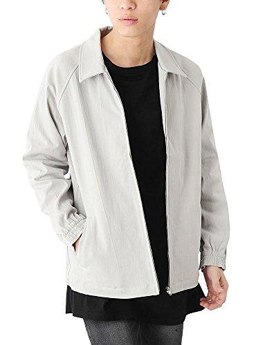 (ベストマート) BestMart シンプル ドリズラージャケット ブルゾン メンズ 無地 長袖 623062