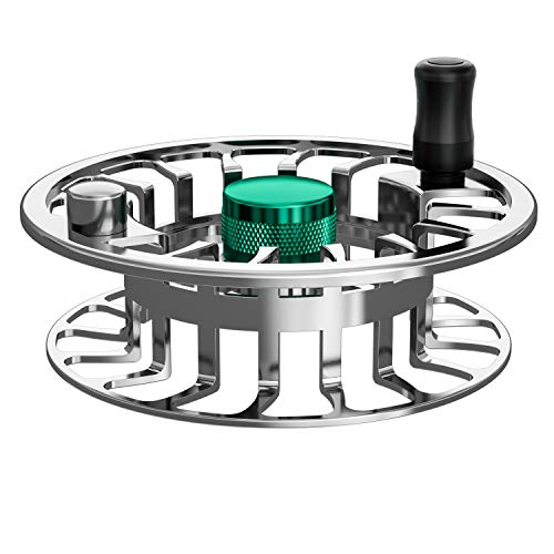 Magreel Fly Reel Extra Spool, Fly Fishing Reel Spare Spool with CNC-machined Aluminum Alloy Body 3/4 wt,5/6wt,7/9wt