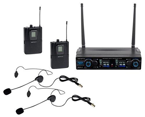 900mhz Wireless Microphone (VOCOPRO Wireless Headset Microphone (DIGITAL-2HEADSET))