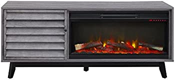 Ameriwood Home Vaughn Fireplace TV Console for TVs up to 60