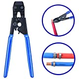 "Jinwen 120037 Pex Cinch Clamp Fastening Tool From 3/8"" To 1"",Pex Cinch Crimping Tool Crimper For Stainless Steel Clamps (01)"